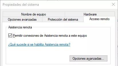 Asistencia Remota Windows 10