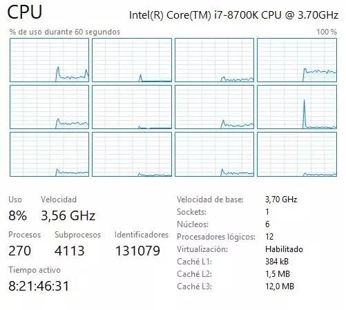 Procesador Intel con Hyper-Threading