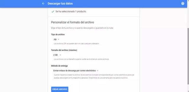 Crear copias de confianza de Gmail