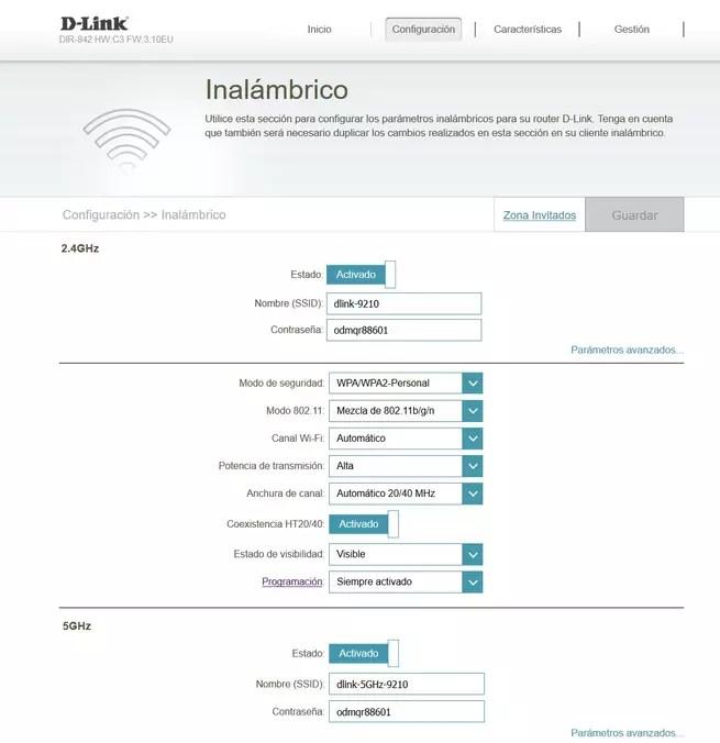 D-Link DIR-842 Firmware: Conoce en detalle todas las opciones