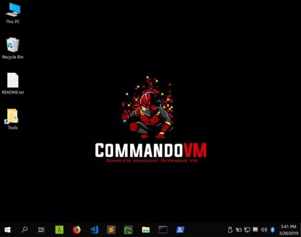 Commando VM - Escritorio