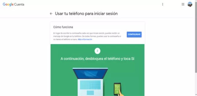 Agregar smartphone a la suma de Google