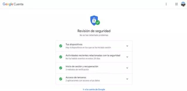Revisión de confianza de Google