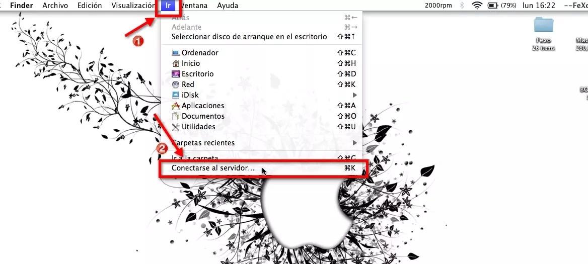 Red de área local en Mac OS X