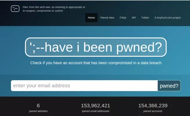 Have I Been Pwned foto 1