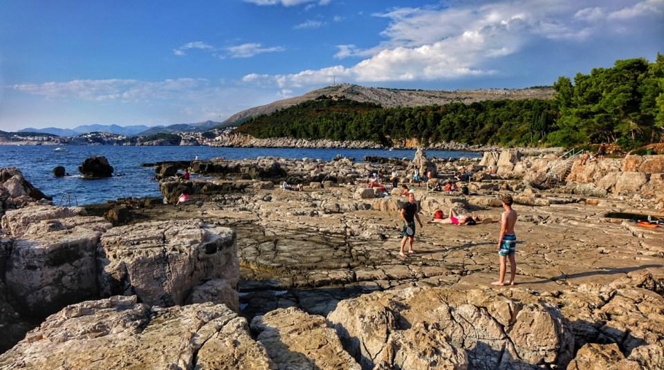 island hopping in Croatia Lokrum island