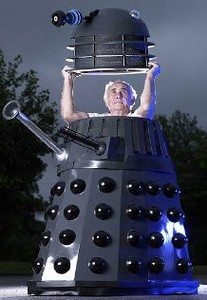 lifesizedalek small Dalek delivered.