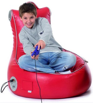 slouchpod small SlouchPod InteractiveXT   the gamers bean bag
