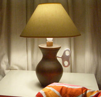 winduplamp Wind Up Lamp   clever power generator, timer and lamp combo is perfect for sleepy time