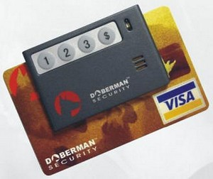 dobermancreditcardreminder2 small Doberman SE 0202 Credit Card Reminder   never forget your plastic friend again