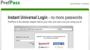 prefpass small PrefPass   universal login system for website owners