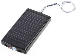 KeyChainSolarCharger small Key Chain Solar Charger   handy power backup for your pocket hungry devices