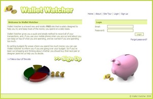 walletwatcher small1 Wallet Watcher   keep track of your money online