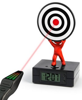 Laser-alarm-clock