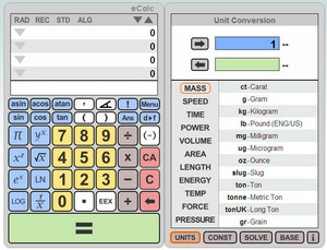 ecalc small eCalc   the best online calculator in the whole known universe?