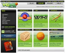 YoYo Games – an online game making community