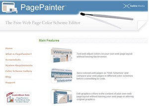 pagepainter2 small PagePainter   the free web page color scheme editor
