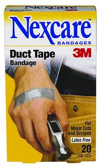 Duct Tape Bandage – now it can fix everything