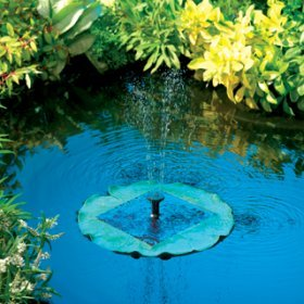 Lily Floating Solar Fountain – frogs not included