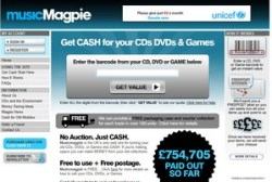 Music Magpie – get cash for your old CDs, DVDs and games