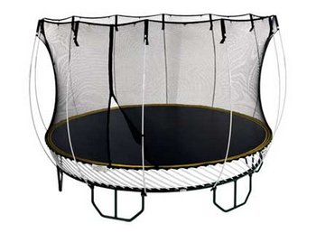 Springfree Trampolines – extra bounce without breaking your head