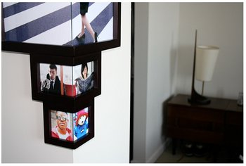 Wrap Around Corner Frame – a photo frame that sees around corners
