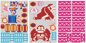 Donkey Kong Wall Graphics – deck out the play room in retro