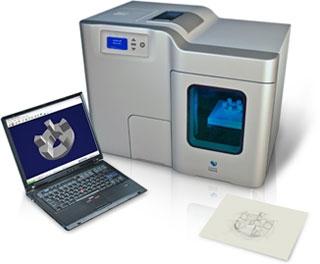 Desktop Factory 3D Printer – small scale 3D printer