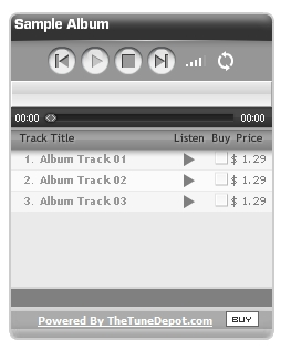 Tune Depot – sell your music online without the big boys