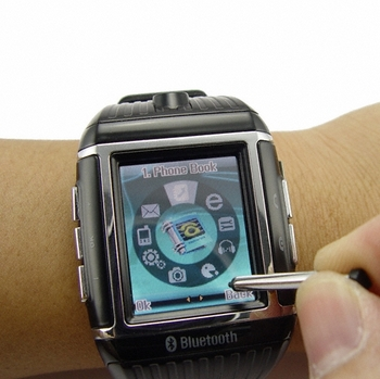 Quad Band Cell Phone Watch – world weary waterproof watch