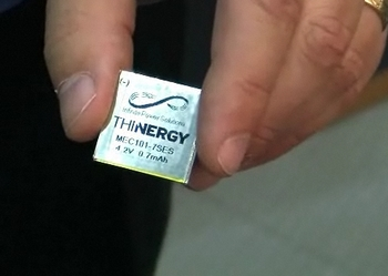 Thinergy Micro Energy Cells – the worlds most powerful micro battery