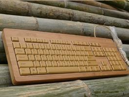 Bamboo Keyboard – a green alternative