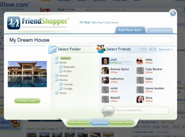 friendshopper FriendShopper   because shopping online is boring by yourself