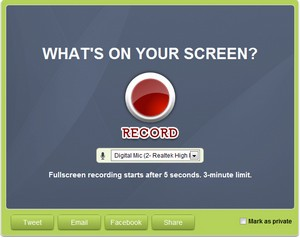 screenjelly small Screenjelly   easy, free screencasting service