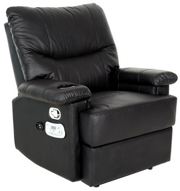 reclining gaming chair best beach chairs deluxe x rocker recliner with extra rumble the red
