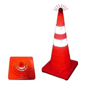Foldable Road Warning Cone – For witches who want to be seen