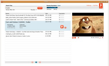 tribler small Tribler   free P2P software aims to make BitTorrent sharing user friendly