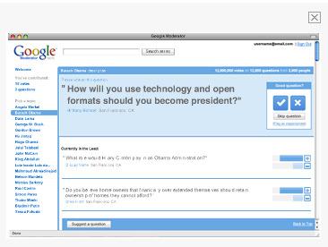 Googlemoderator