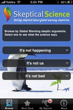 Skeptical Science iPhone App – Fights skepticism with skepticism