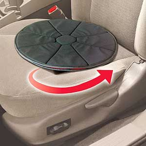 360 Degree Swivel Cushion Seat – Twist again, like we did last summer