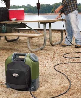 Nomad Portable Pressure Cleaner – Instant car wash