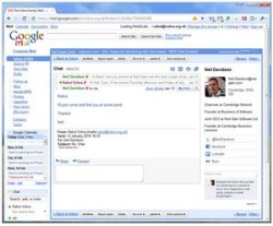Rapportive – cool browser plugin adds social networking data to Gmail