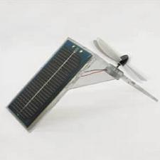 Solar Powered Perspex Desk Fan – DIY sun-powered desktop breeze