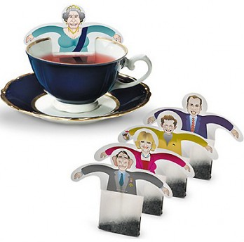 Royal teabags – Tea for QE2