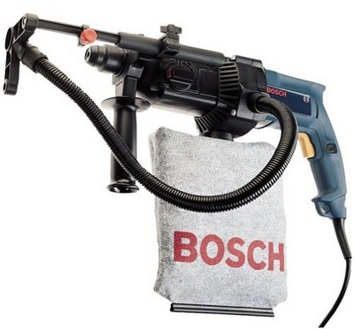 Bosch 11221DVS Rotary Hammer – Cough free drilling