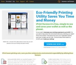 iPrint – eco friendly printing freeware saves paper, money, the planet