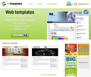 templategenerators small 9 Cool Free Website Theme Generators
