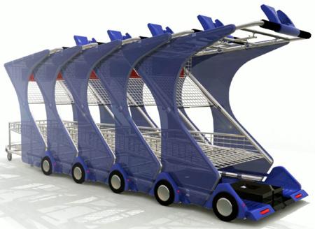 Z-Cart – Half shopping cart, half electric scooter
