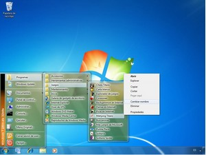 classicwindowsstartmenu small Classic Windows Start Menu   freeware returns your desktop to happier days of yore