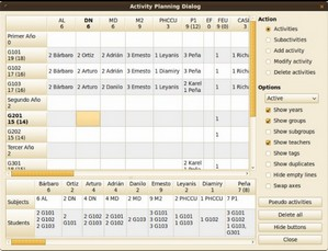 fettimetable small FET   free open source timetable software